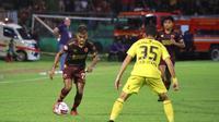 PSM Vs Barito Putra di Stadion Andi Mattalatta, Mattoangin, Minggu (15/3/2020). (Abdi Satria).