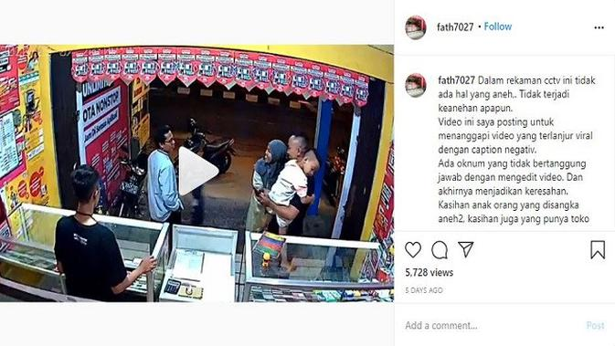 Gambar Tangkapan Layar Video dari Akun Instagram @fath7027
