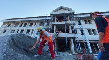 Kementerian PUPR tengah membangun satu rumah susun (rusun) untuk masyarakat berpenghasilan rendah (MBR) di Yogyakarta.