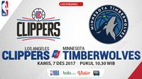 Los Angeles Clippers Vs Minnesota Timberwolves_2 (Bola.com/Adreanus Titus)