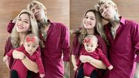 6 Potret Young Lex dan Istri Asuh Baby Zaenab, Kompak Banget (Sumber: Instagram/eriskanakesya)