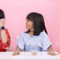 Ekspresi Bocah Ketika Mencoba Makanan Jepang. sumberfoto: Kokiku TV