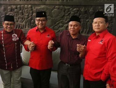 Bahas Pilpres 2019, Cak Imin Terima Rombongan PDIP di Kantor PKB