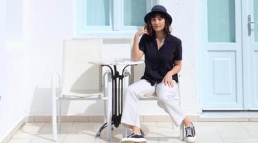Gaya Fashion Tatjana Saphira yang Simple dan Modis