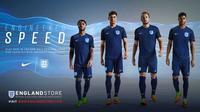Seragam tandang baru tim nasional Inggris. (dok. The FA)