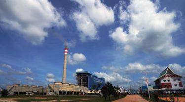 Pembangkit Listrik Tenaga Uap (PLTU) Tenayan berkapasitas 2x110 megawatt (MW) merupakan penyangga sistem kelistrikan di Sumatera Bagian Tengah. (Liputan6.com/Pool/PLN)