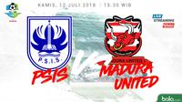 Jadwal Liga 1 2018 pekan ke-15, PSIS Semarang Vs Madura United. (Bola.com/Dody Iryawan)
