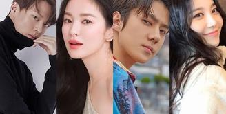 """Jang Ki Yong, Song Hye Kyo, Sehun EXO, dan Yura Gilr's Day akan bermain dalam satu judul drama yaitu """"Now, We Are Breaking Up"""". Syutingnya telah dimulai sejak April lalu dan rencananya akan di tayangkan tahun 2021."""