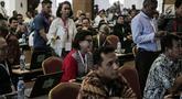 Suasana tes uji kompetensi Seleksi Calon Pimpinan KPK di Pusdiklat Kementerian Sekretaris Negara, Cilandak, Jakarta, Kamis (18/7/2019). Sebanyak 192 kandidat calon pimpinan (capim) Komisi Pemberantasan Korupsi (KPK) mengikuti uji kompetensi tersebut. (Liputan6.com/Faizal Fanani)