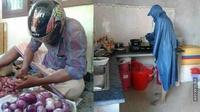 momen kocak pria memasak (foto: brilio)