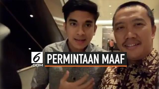 Menpora RI Imam Nahrawi meminta maaf langsung kepada Menpora Malaysia Syed Saddiq terkait kericuhan yang terjadi setelah laga Indonesia Vs Malaysia.