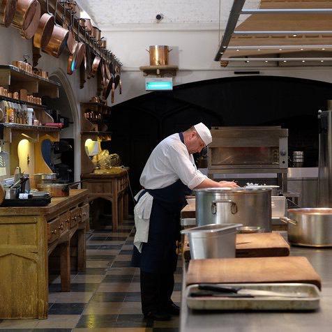 Mark Flanagan, head chef royal wedding. www.royal.uk