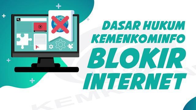 Permen Kemenkominfo Nomor 19 Tahun 2014 soal konten negatif disebut sebagai dasar hukum pemblokiran internet.