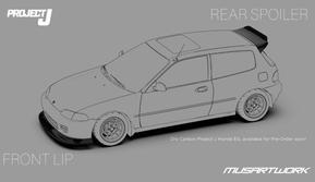 Bodi Kit Honda Civic Estilo Buatan Lokal Mulai Dijual (Ist)