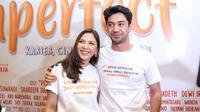 Reza Rahadian dan Jessica Mila (Daniel Kampua/Fimela.com)