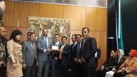 Delegasi Grup Kerja Sama Bilateral DPR melawat ke Brazil, pada 8-11 Juli 2019.