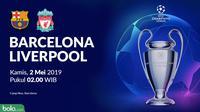 Liga Champions: Barcelona vs Liverpool. (Bola.com/Dody Iryawan)