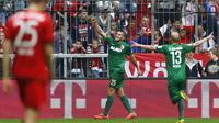 Bayern Muenchen vs Augsburg (AP Photo/Matthias Schrader)