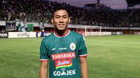 Bek andalan PSS di Liga 2 2018, Asyraq Gufron Ramadhan. (Bola.com/Vincentius Atmaja)