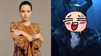 Penampilan Angelina Jolie Berubah Drastis di Film Maleficent (sumber: Instagram.com/angelinajolieofficial & Youtube.com/Walt Disney Studios)
