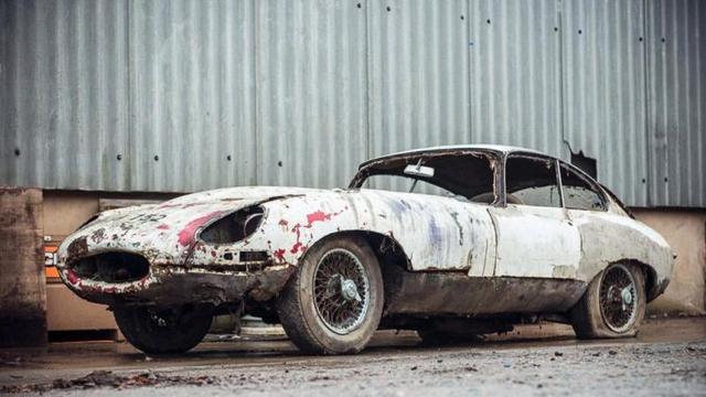 Jaguar E Type >> Jaguar Edisi Langka Penuh Karat Ini Seharga Mobil Baru