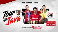 Live Streaming Bali United Tour de Java Eksklusif di Vidio Pekan Ini. (Sumber: dok. vidio.com)