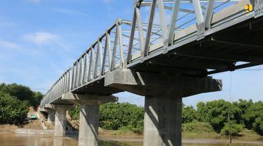 Peresmian Jembatan Terusan Bojonegoro-Blora. (Dok Kementerian PUPR)