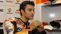 Pembalap Spanyol, Dani Pedrosa, akan mengumumkan masa depannya di MotoGP. (MotoGP)