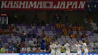Pemain Kashima Antlers merayakan gol ke gawang Guadalajara di Piala Dunia Antarklub 2018. (AFP/Giuseppe Cacace)