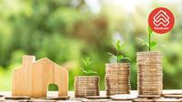 Memiliki rumah melalui KPR, Anda hanya perlu menyiapkan uang muka  sekitar 10% – 15% dari harga rumahnya.