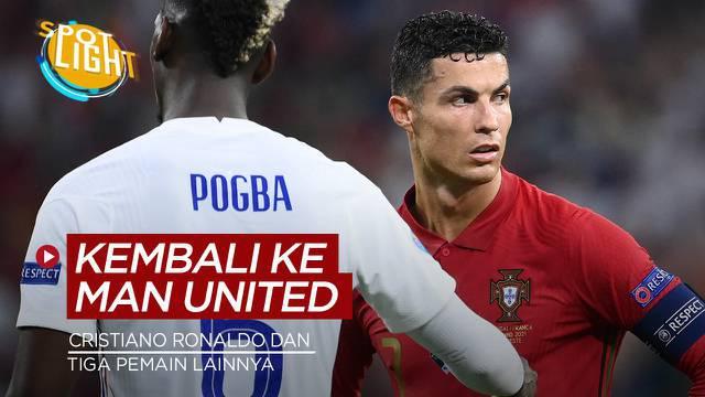 Berita video spotlight kali ini membahas tentang deretan pemain yang kembali lagi ke Manchester United, yang terbaru ialah Cristiano Ronaldo.