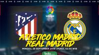 La Liga: Atletico Madrid vs Real Madrid. (Bola.com/Dody Iryawan)