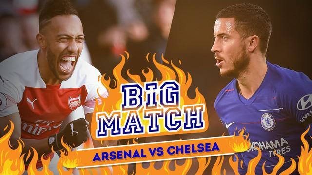 Berita video Big Match yang membahas tentang laga tentang Arsenal menghadapi Chelsea pada Minggu (20/1/2019) dinihari WIB.