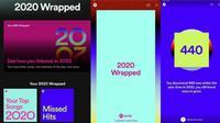 Spotify Wrapped 2020. Liputan6.com/Iskandar