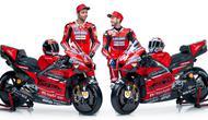 Duo Ducati Andrea Dovizioso serta Danilo Petrucci mengandalkan Desmosedici GP20 pada MotoGP 2020. (MotoGP)