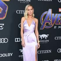 Brie Larson saat world premiere Avengers: Endgame di Los Angeles, Amerika(VALERIE MACON / AFP)