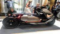 Concept Link, Konsep Skuter Listrik Bonsor BMW Motorrad (Foto:Indianautosblog)