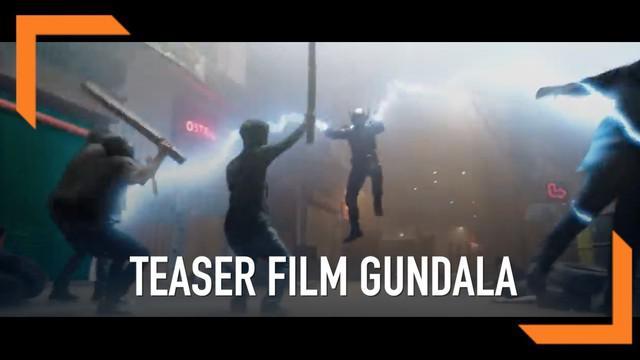 Screenplay Films resmi merilis video teaser resmi Gundala. Video teaser menampilkan Sancaka alias Gundala yang diperankan Abimana Aryasatya.