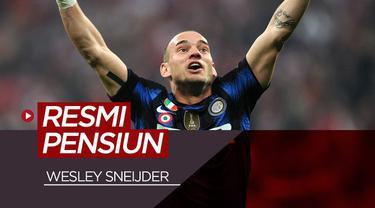 Berita video catatan 20 tahun karier Wesley Sneijder di dunia sepak bola.