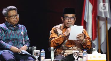 Menag Fachrul Razi Bahas Pembangunan SDM di Rakornas Indonesia Maju