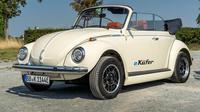 VW kodok atau Volkswagen Beetle elektrik akan menjalani debutnya pada Frankfurt Auto Show 2019. (carbuzz)