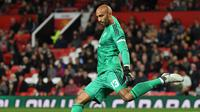 Kiper Manchester United, Lee Grant. (AFP/Paul Ellis)