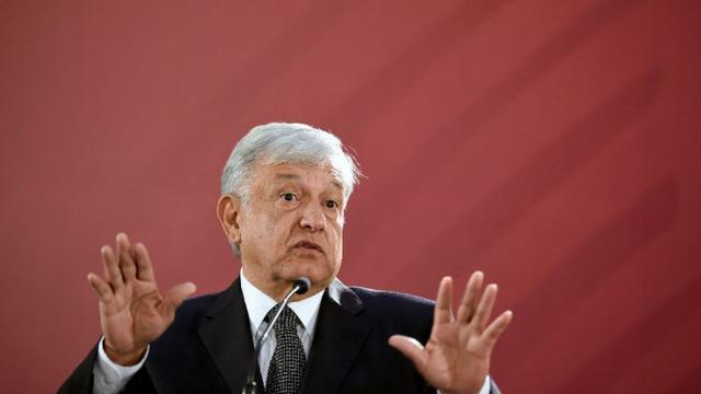 Presiden Meksiko Andres Manuel Lopez Obrador (AFP/Alfredo Estrella)