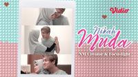 Nikah Muda, web series baru dari Rizky Billar dan Ravelia Irawan di Vidio. (Sumber: Vidio)