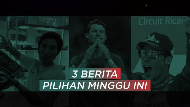 Berita video pilihan minggu ini, salah satunya ada Joan Mir yang menangkan gelar MotoGP 2020 dan isu Cristiano Ronaldo balik ke Manchester United
