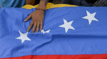 Ilustrasi Bendera Venezuela