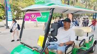 Grab sediakan sarana fasilitas Grab Gerak dan Golf Car bantu mobilisasi pengunjung dan atlet Asian Para Games ke Gelora Bung Karno.