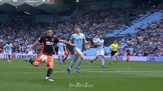 Valencia gagal meraih kemenangan usai ditahan imbang 1-1 oleh tuan rumah Celta Vigo, Sabtu (21/4). Tanpa gol di babak pertama, Val...