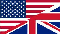 Ilustrasi bendera AS dan Inggris. (Sumber Pixabay)