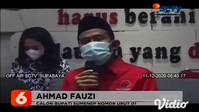 Terkait pilkada 2020, dua paslon Bupati dan Wakil Bupati Kabupaten Sumenep, Jawa Timur, saling mengklaim kemenangan dan mendeklarasikannya. Hal itu dilakukan setelah kedua paslon melihat hasil hitung cepat yang dilakukan masing-masing kubu.